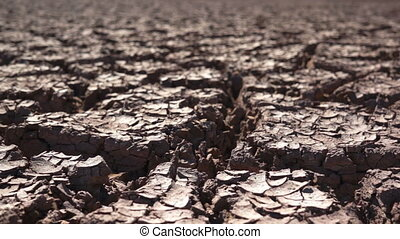 secos, ambiental, terra rachada