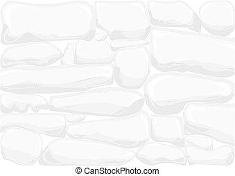 secos, parede, pedra, fundo