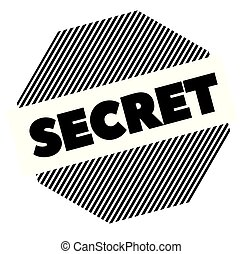 secret black stamp