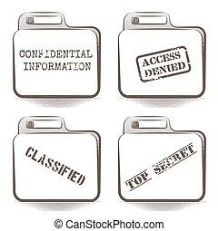 Secret folders
