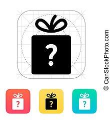 Secret gift icon.