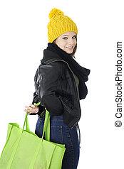Secret in the Shopping Bag
