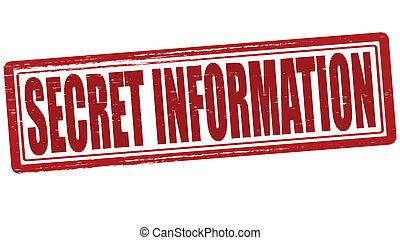 Secret information