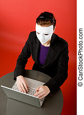 Secret Message - Writing an message online annonymously