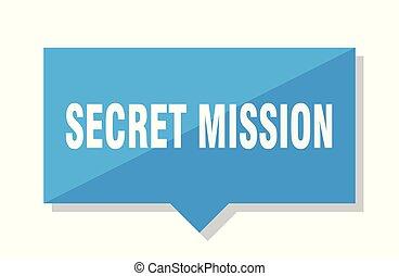 secret mission price tag - secret mission blue square price...