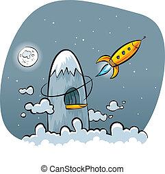 Secret Mountain Rocket Base