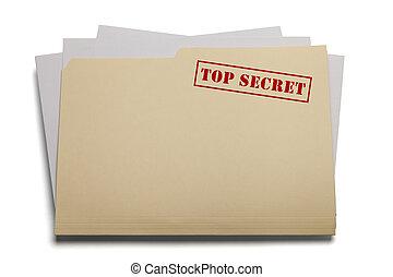 secret supérieur, fichier
