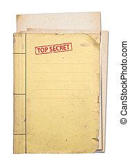 secret supérieur, folder.