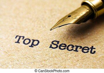 secret supérieur