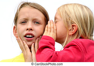 Secrets - One girl giving the other an earful