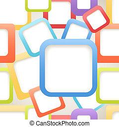 secteur, couleur, résumé, seamless, contenu, boîtes, fond, vide, n'importe quel
