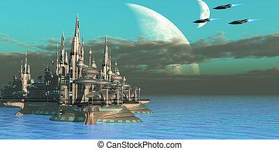 secteur, quadron, planète
