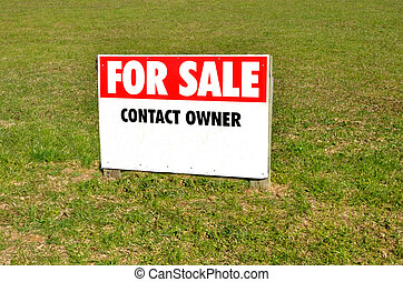 Section for sale sign