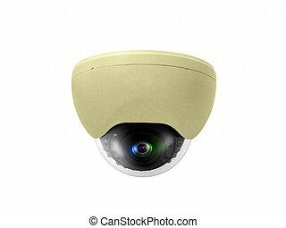 Secure ceiling type digital camera