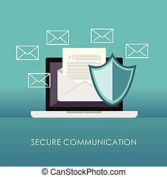 Secure communication. Email protection.