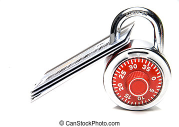 Secure Credit Cards - Credit Cards Secured with a Padlock