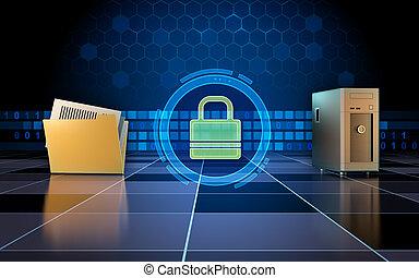 Secure data transfer