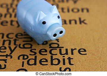 secure, debitere