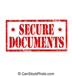 Secure Documents-stamp