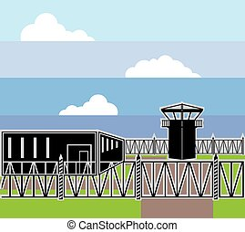 Secure Facility Prison Camp
