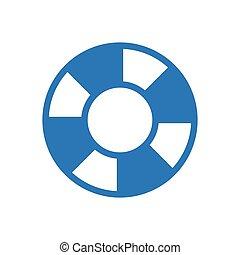 secure  glyph color icon