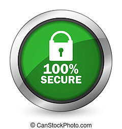 secure green icon