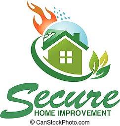 secure House logo design