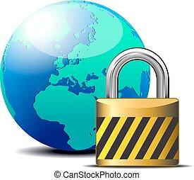 Secure Internet Padlock - internet - Secure internet...