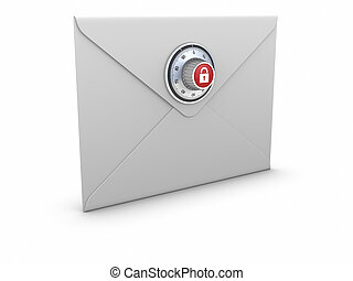 Secure Mail concept.