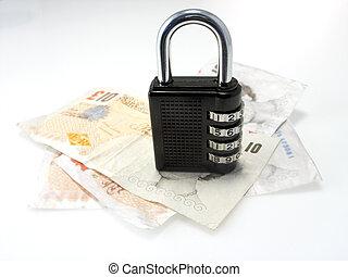 secure, penge