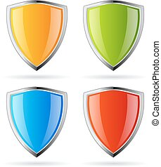 Secure shield icon