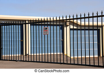 Secure Storage - New Self Storage Units with Security