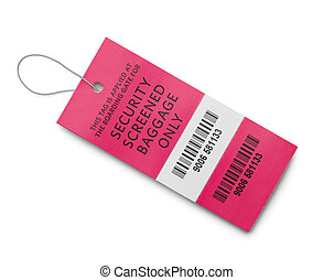 Security Baggage Tag