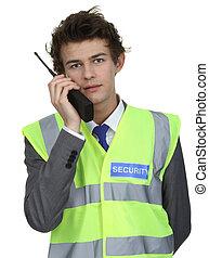 security bevogt, hos, radio