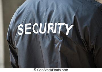 security bevogt, jakke