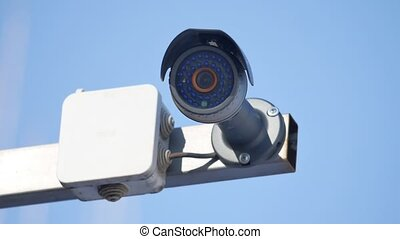 security camera and urban video surveillance protection...