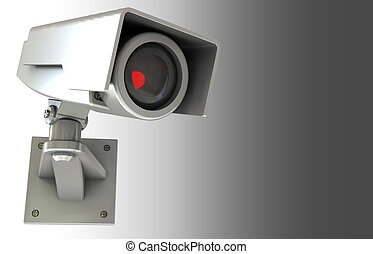 security camera background