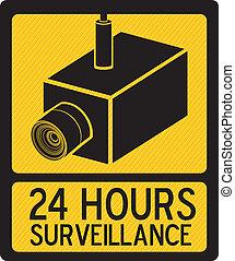 Security Camera - Illustration of security camera, security...