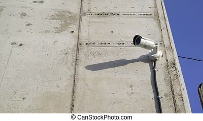 Security camera Private property protection outdoors