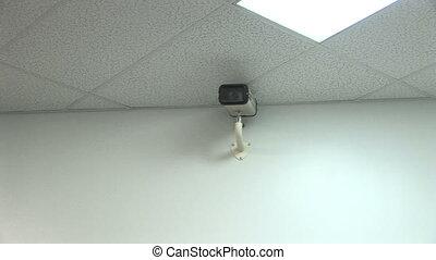 Security Camera Surveillance - Interior security camera,...