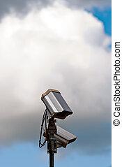 Security Camera V1 with sky