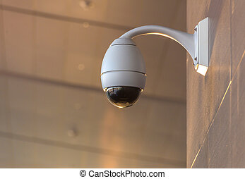 Security CCTV camera and urban video
