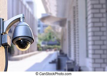 Security CCTV camera out door