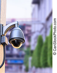 Security CCTV camera out door