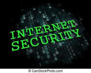 security., concept., internetowa technologia, informacja