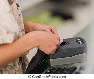 Security Equipment In Retail Store