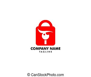 Security Eye Logo Template
