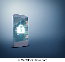 Security for safety from mobile phone.