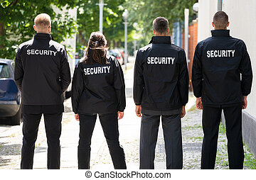 Security Guard Group Event Service