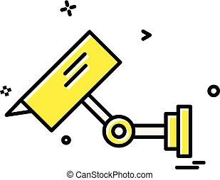 Security icon design vector